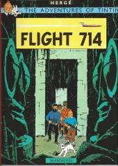Tintin (The Adventures of) -22c99- Flight 714