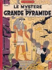 Blake et Mortimer (Historique) -3b56- Le Mystère de la Grande Pyramide - 1ère partie - Le Papyrus de Manéthon