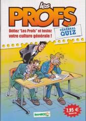 Les profs -HS3- Cérébral quiz