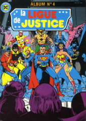 La ligue de justice (1re série - Arédit - Artima Color DC Super Star puis Artima Color DC) -Rec04- Album N°4 (n°7 et n°8)