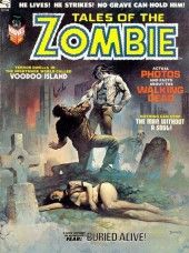 Tales of the Zombie (Marvel comics - 1973) -3- When the Gods Crave Flesh