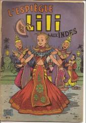 Lili (L'espiègle Lili puis Lili - S.P.E) -8a58- Lili aux indes