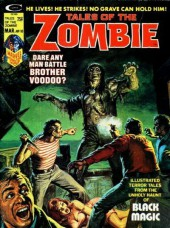 Couverture de Tales of the Zombie (Marvel comics - 1973) -10- The Resurrection of Papa Jambo