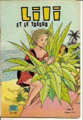 Lili (L'espiègle Lili puis Lili - S.P.E) -36- Lili et le trésor