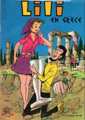 Lili (L'espiègle Lili puis Lili - S.P.E) -40- Lili en Grèce