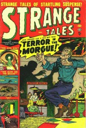 Strange Tales (Marvel - 1951) -4- Terror In The Morgue