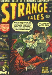 Strange Tales (1951) -12- Graveyard At Midnight