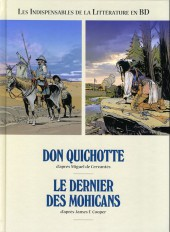 Les indispensables de la Littérature en BD -FL12- Don Quichotte / Le Dernier des Mohicans