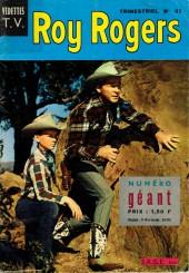 Roy Rogers, le roi des cow-boys (3e série - vedettes T.V) -37- Numéro 37