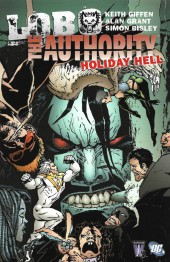 Couverture de Lobo/Authority (2004) -INT- Holiday Hell