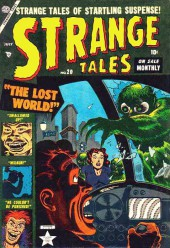 Strange Tales (Marvel - 1951) -20- The Lost World!