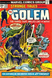 Strange Tales (Marvel - 1951) -174- The Golem, The Thing That Walks Like A Man!