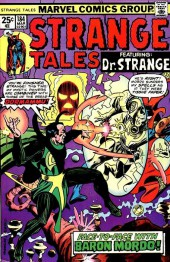 Strange Tales (1951) -184- Face-to-Face At Last With Baron Mordo / A Nameless Land, A Timeless Time