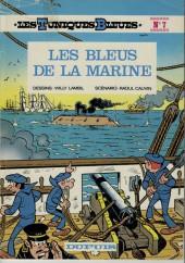 Les tuniques Bleues -7a1977- Les bleus de la marine