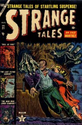 Strange Tales (Marvel - 1951) -21- The Man Who Cried Vampire