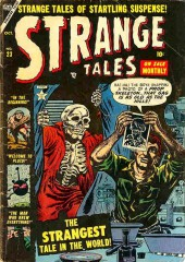 Strange Tales (Marvel - 1951) -23- The Strangest Tale in The World!