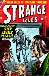 Strange Tales (1951) -33- Step Lively, Please!