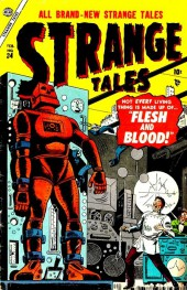 Strange Tales (Marvel - 1951) -34- Flesh and Blood!