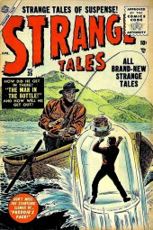 Strange Tales (1951) -35- The Man In the Bottle!