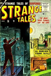 Strange Tales (Marvel - 1951) -36- The Man Who Turned Off the Sun!