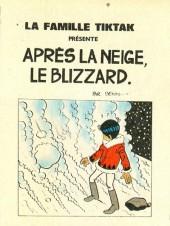 Famille Tiktak -1MR1675- Après la neige, le blizzard