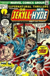 Supernatural Thrillers (Marvel - 1972) -4- Dr. Jekyll and Mr. Hyde!