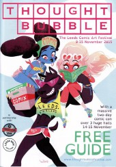 (Catalogues) Éditeurs, agences, festivals, fabricants de para-BD... -2015ANG- Thought Bubble: The Leeds Comic Art festival