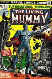 Supernatural Thrillers (Marvel - 1972) -5- The Living Mummy: the revenge of the monster!