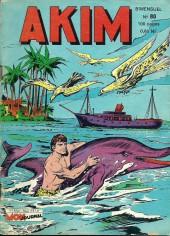 Akim (1re série) -80- L'île aux loups