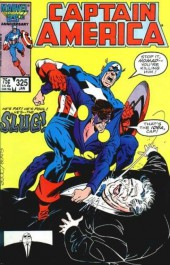 Captain America (Marvel comics - 1968) -325- Slugfest