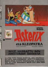 Astérix (en langues étrangères) -6Basque- Asterix eta Kleopatra