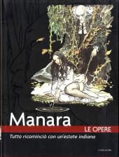 Manara (Le Opere) -2- Tutto ricomincio con un'estate indiana