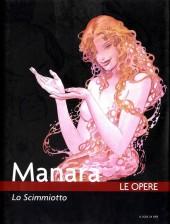 Manara (Le Opere) -8- Lo Scimmiotto