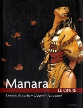 Manara (Le Opere) -9- L'uomo di corta - L'uomo delle nevi