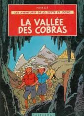 Jo, Zette et Jocko (Les Aventures de) -5B35- La vallée des cobras