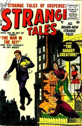 Strange Tales (1951) -38- The Man In the Sky