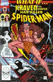 What If? vol.2 (Marvel comics - 1989) -17- Kraven the hunter had killed spider-man