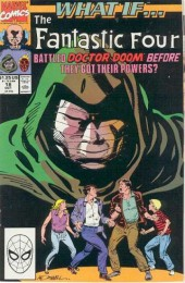 What If? vol.2 (1989) -18- The fantastic four battled doctor doom before they got their powers