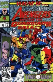 What If? vol.2 (Marvel comics - 1989) -36- The cosmic avengers battled the guardians of the galaxy
