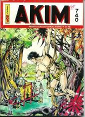 Akim (1re série) -740- Les spectres de la nuit