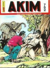 Akim (1re série) -752- La prisonnière dans l'île