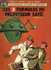 Blake et Mortimer -INT6- Les 3 Formules du Professeur Satô - Intégrale