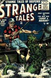 Strange Tales (Marvel - 1951) -40- The Man Who Caught a Mermaid
