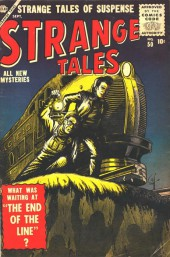 Strange Tales (1951) -50- The End of the Line