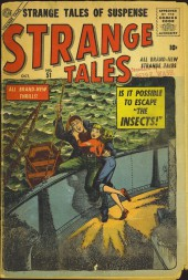 Strange Tales (Marvel - 1951) -51- The Insects!