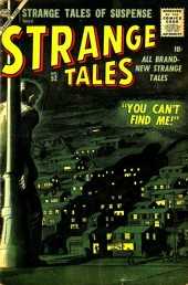 Strange Tales (Marvel - 1951) -52- You Can't Find Me!