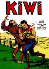 Kiwi -155- Le petit trappeur