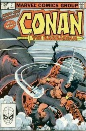 Conan the Barbarian Vol 1 (Marvel - 1970) -AN07- Red Shadows and Black Kraken!