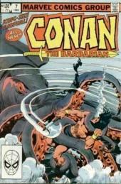 Conan the Barbarian (1970) -AN07- Red Shadows and Black Kraken!