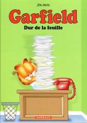 Garfield -30Ind2016- Dur de la feuille